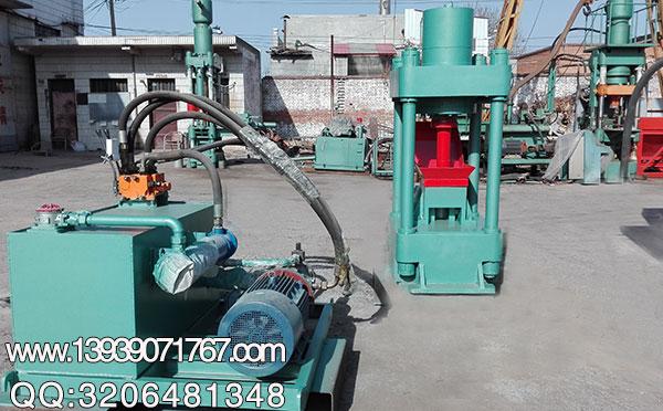 200吨废铁压块机