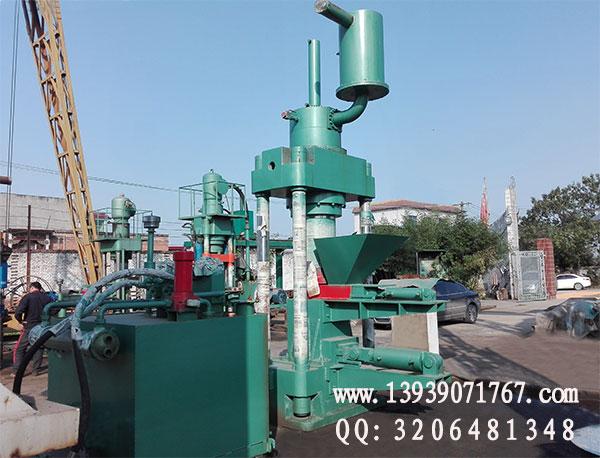 1000吨铁屑压块机