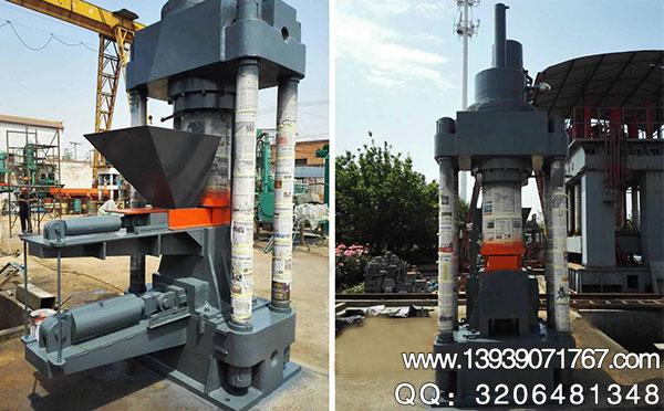 630吨废铁压块机
