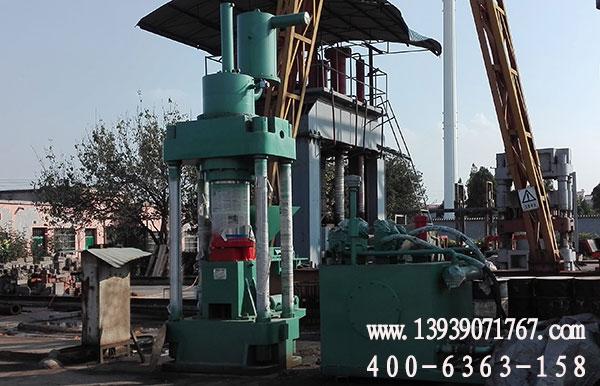 630吨全自动金属屑压块机发货现场