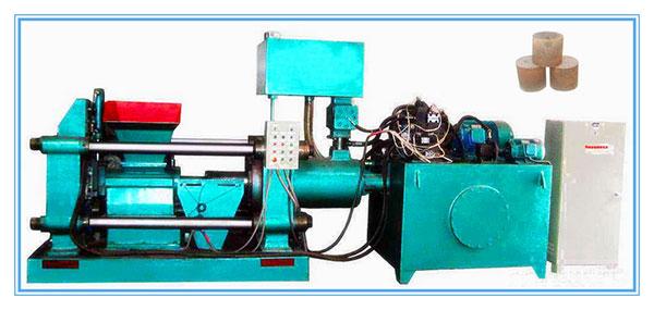 卧式金属屑压块机