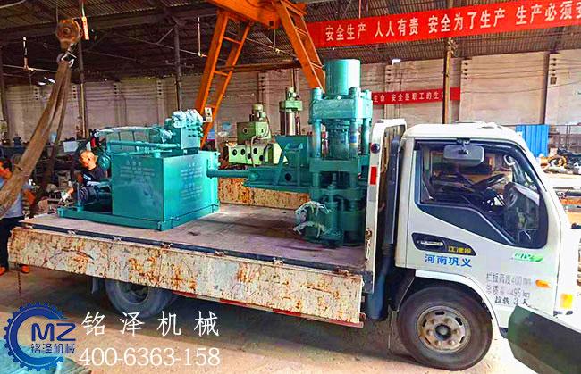 200吨金属屑压块机